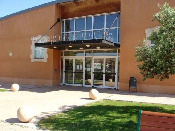 Vue de l'entrée de la salle. à FLORENSAC