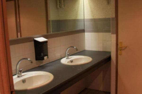 Aperçu de l'espace toilettes. à BRISSAC